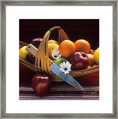 Oranges And Apples Framed Print by Craig Lovell