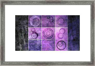 Orb Ensemble 4 Framed Print by Angelina Vick