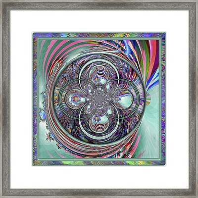 Orb-fuscation Framed Print