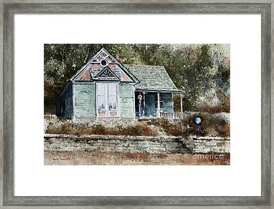 ORB Framed Print by Monte Toon