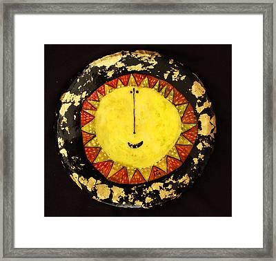 Orbis Big Sun Framed Print by Mark M  Mellon