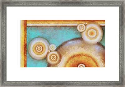 Orbit 2 Framed Print