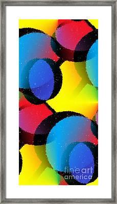 Orbit Framed Print by Chris Butler