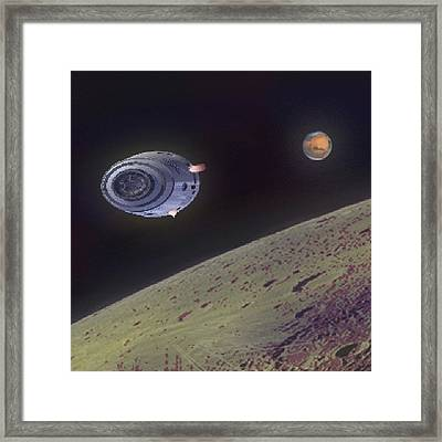 Orbit Framed Print by Andrew Morican