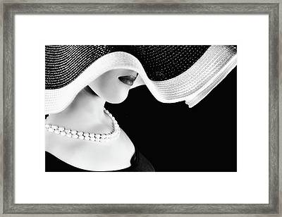 Orbites Of The Venus Framed Print
