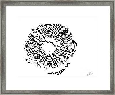 Orbits Framed Print
