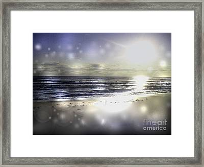 Orbs Of Healing Framed Print by Jeffery Fagan