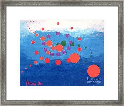 Orbs Under Water Framed Print by Rod Ismay