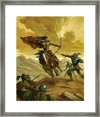 Orc Ambush Framed Print