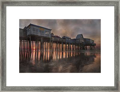 Orchard Beach Glorious Morning Framed Print by Betsy Knapp
