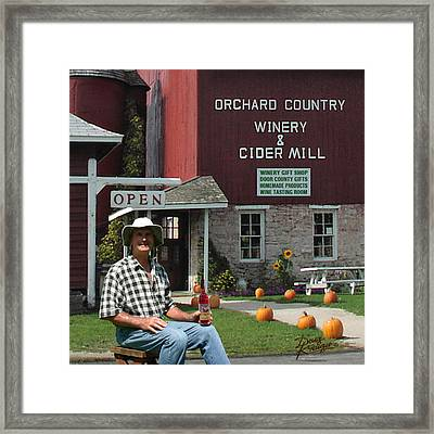 Orchard Country Winery Framed Print by Doug Kreuger