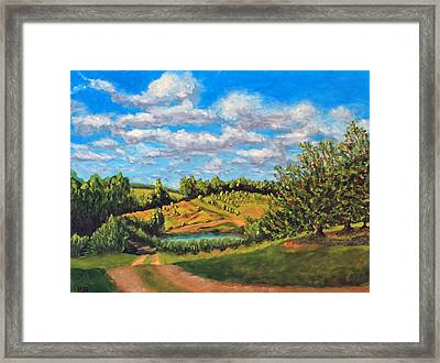 Orchard Framed Print