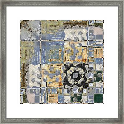 Orchards And Farms Number 2 Framed Print by Carol Leigh