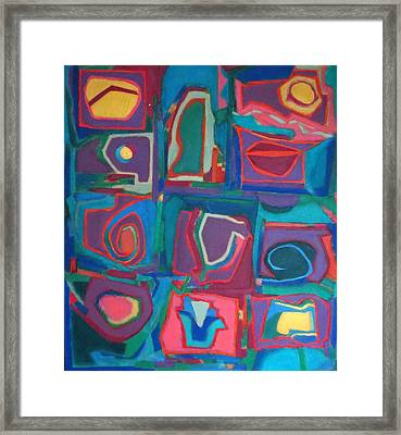 Orchestra Framed Print by Diane Fine