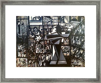 Orchestra Framed Print by Ruben Archuleta - Art Gallery