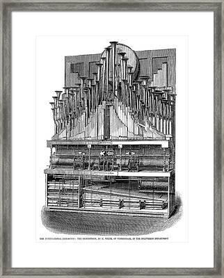 Orchestrion, 1862 Framed Print