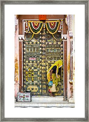 Orchha - India Framed Print by Luciano Mortula