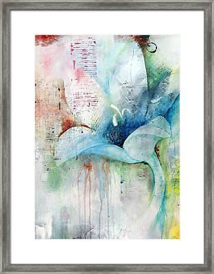 Orchid Fields IIi - D1 Framed Print by Vivian Mora