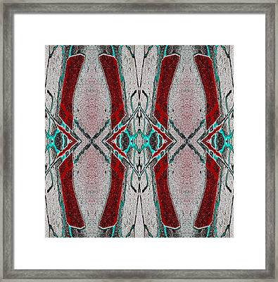 Order Honors Disorder 2013 Framed Print by James Warren