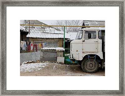 Ordinary Poverty Framed Print by Frederic Vigne