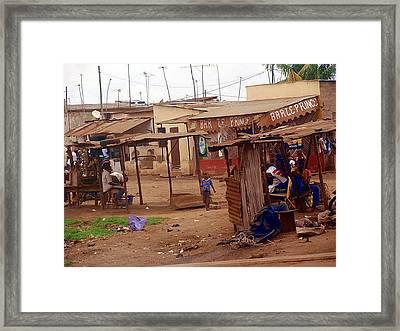 Ordinary Wonders Of Africa Framed Print by Mikhail Savchenko
