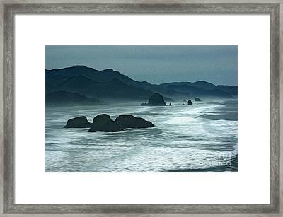 Oregon Cannon Beach Framed Print by Nur Roy
