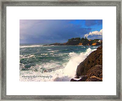 Oregon Coast 9 Framed Print