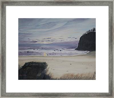 Oregon Coast Framed Print