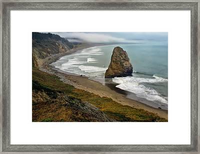Oregon Coast Framed Print by Priscilla Burgers
