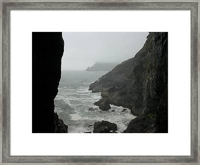 Oregon Coast Framed Print by Yvette Pichette