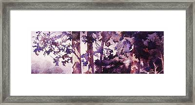 Oregon Grove Framed Print by John  Svenson