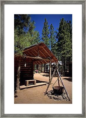 Oregon High Desert Museum Framed Print by Jim Corwin