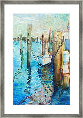 Oregon Inlet Framed Print