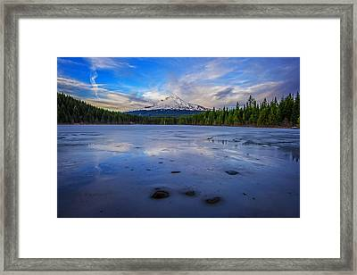 Oregon January Framed Print by Rick Berk