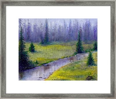 Oregon Landscape - 126 Framed Print