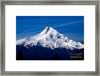 Oregon - Mt. Hood Framed Print