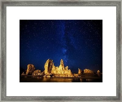 Oregon Nights Framed Print by Darren  White