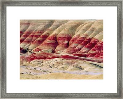 Oregon Painted Hills Framed Print