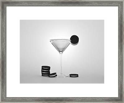 Oreo Happy Hour Framed Print