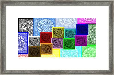 Oreo Hope Collage Framed Print by Rob Hans