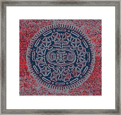 Oreo In Hope 14 Framed Print by Rob Hans
