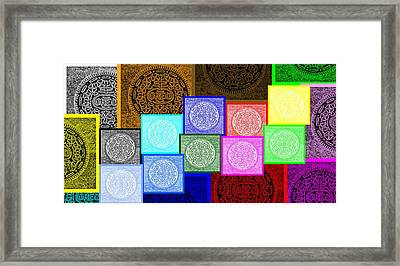 Oreo Hope Collage 2 Framed Print by Rob Hans