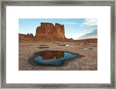 Organ Formation, Arches National Park Framed Print by John Shaw