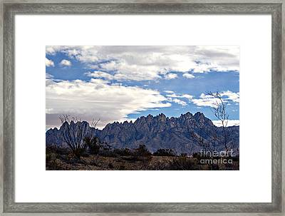 Organ Mountain Landscape Framed Print