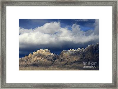 Organ Mountains New Mexico Framed Print by Bob Christopher