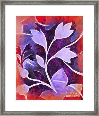 Organic Bold Framed Print