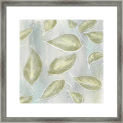 Organic Feel Framed Print by Lourry Legarde