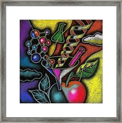 Organic Food Framed Print