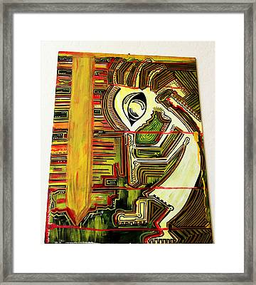 Organic Matrix Framed Print by Intoxicated Art