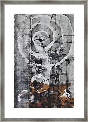 Organic Motion Framed Print by Clara K Johnson